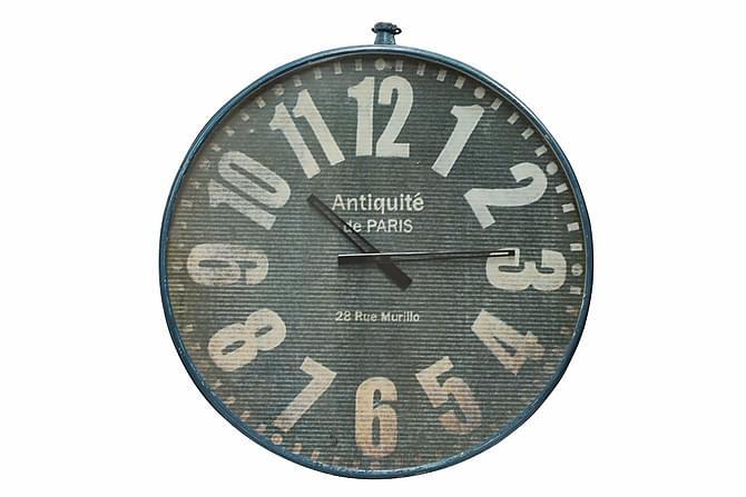 Kello Antiquite de Paris Sininen - Huonekalu - Sisustustuotteet - Seinäkoristeet - Kellot