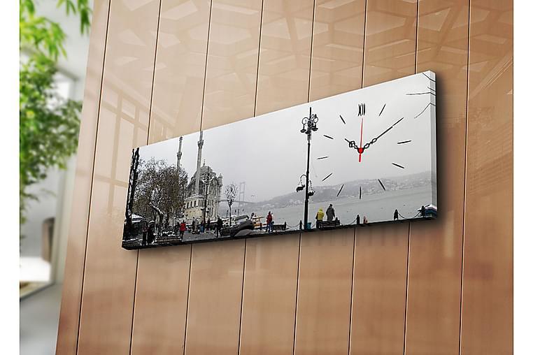 Koristeellinen Canvas Seinäkello - Sisustustuotteet - Seinäkoristeet - Kellot