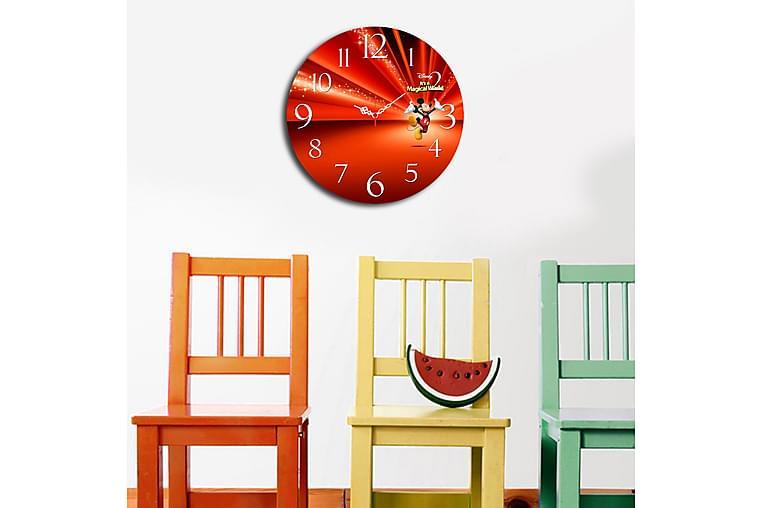 Koristeellinen MDF kello - Sisustustuotteet - Seinäkoristeet - Kellot