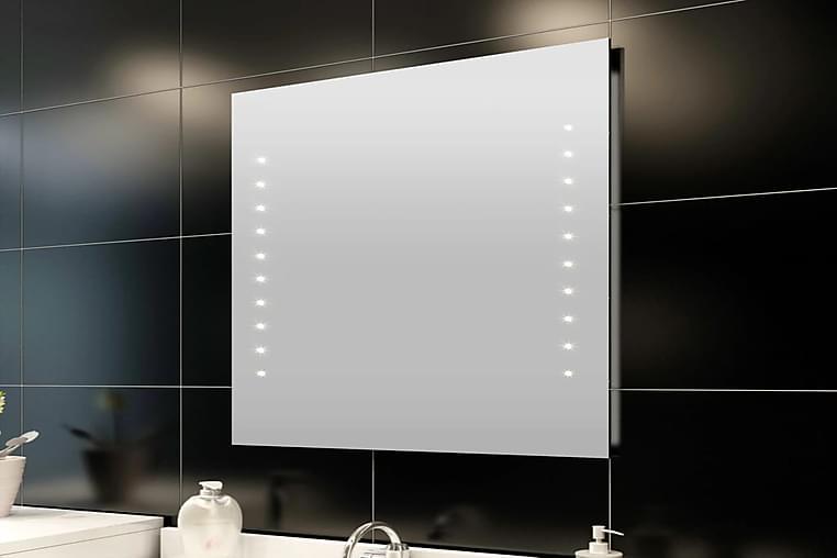 Kylpypeili LED Valoilla 50 x 60 cm - Hopea - Sisustustuotteet - Seinäkoristeet - Peilit