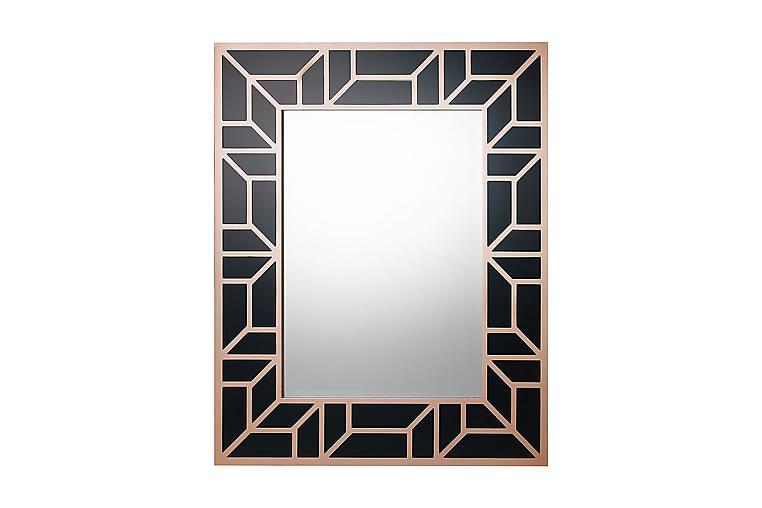 Peili Aaisha 80x100 cm - Musta - Sisustustuotteet - Seinäkoristeet - Peilit
