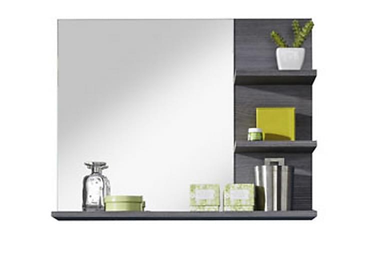 Peili Aya 72 cm - Valkoinen/Hopeanharmaa - Sisustustuotteet - Seinäkoristeet - Peilit