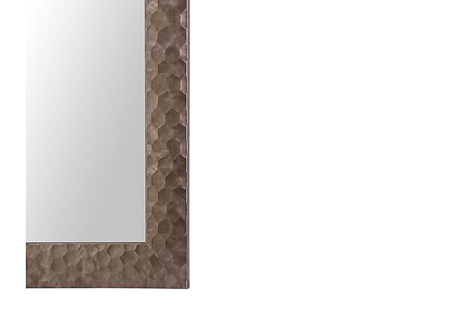 Peili Zarour 50x130 cm - Ruskea - Sisustustuotteet - Seinäkoristeet - Peilit