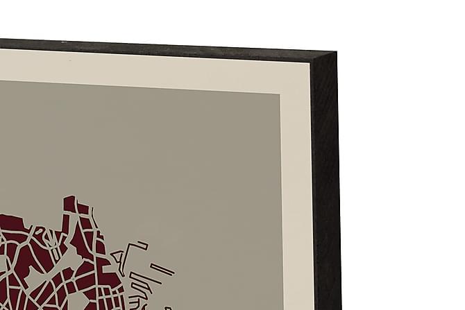 KBH 3-D taulu 21*15*2 - Sisustustuotteet - Seinäkoristeet - Taulut & taide