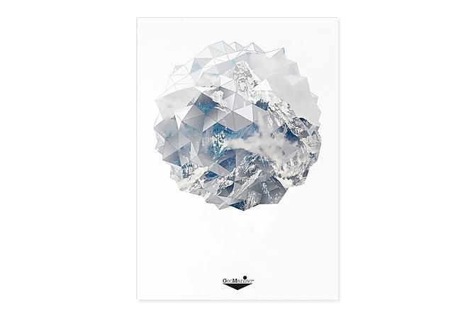 Mountain globe Kortti 15*21cm - Sisustustuotteet - Seinäkoristeet - Taulut & taide