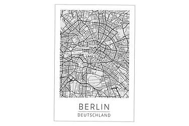 Berlin Kaupunkikartta Juliste