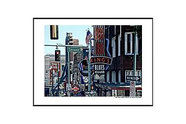 Juliste Beale Street Memphis