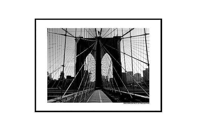 Juliste Brooklyn Bridge promenade - Saatavilla useita kokoja - Sisustustuotteet - Seinäkoristeet - Julisteet