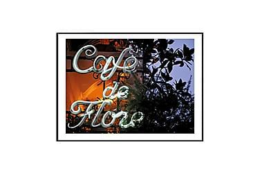 Juliste Café Flore Paris