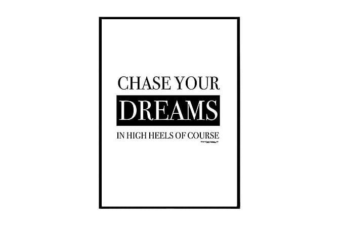 Juliste Chase your dream - Saatavilla useita kokoja - Sisustustuotteet - Seinäkoristeet - Julisteet