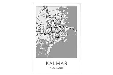 Juliste Kalmar Kaupunkikartta 50x70cm