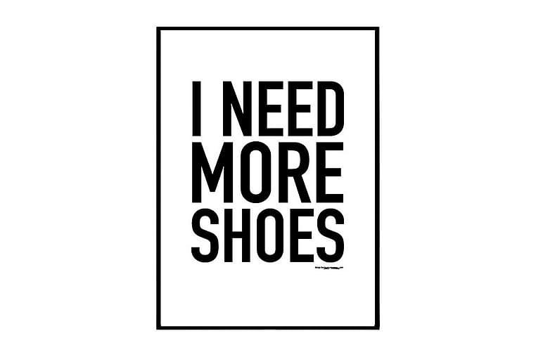 Juliste More shoes - Saatavilla useita kokoja - Sisustustuotteet - Seinäkoristeet - Julisteet
