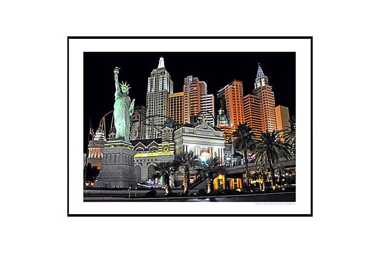 Juliste NYNY Las Vegas - Saatavilla useita kokoja - Sisustustuotteet - Seinäkoristeet - Julisteet