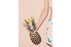 Juliste Pastel Pineapple 2