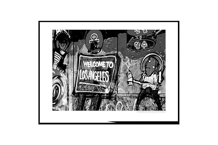 Juliste Welcome to LA black - Saatavilla useita kokoja - Sisustustuotteet - Seinäkoristeet - Julisteet