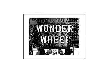 Juliste Wonder Wheel Rides