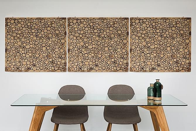 Seinäkoriste Twig 85 cm - Puu/Luonnonväri - Sisustustuotteet - Seinäkoristeet