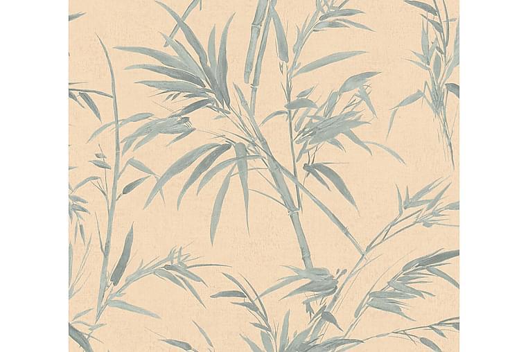 AS Creation Palmunlehti Tapetti Sumatra Kuitu Vihreä - AS Creation - Sisustustuotteet - Tapetit - Kuviolliset tapetit