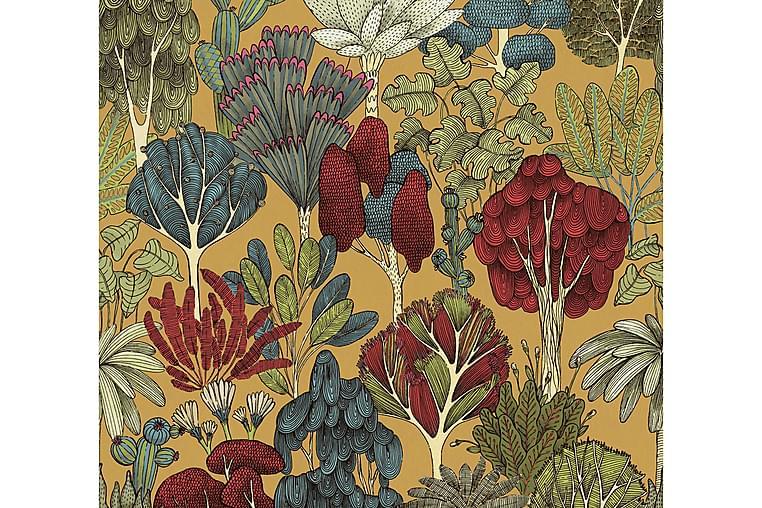 AS Creation Viidakko Tapetti Blommig Impression Kuitu - AS Creation - Sisustustuotteet - Tapetit - Kuviolliset tapetit