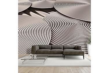 Valokuvatapetti Copper Spirals 200x140