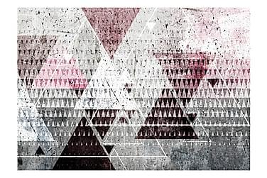 Valokuvatapetti Triangles 300x210