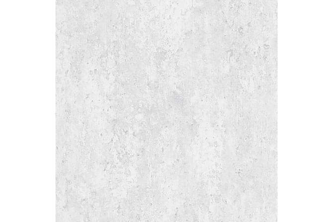 Tapettirullat 2 kpl betoninvalkoinen 0,53x10 m - Valkoinen - Sisustustuotteet - Tapetit