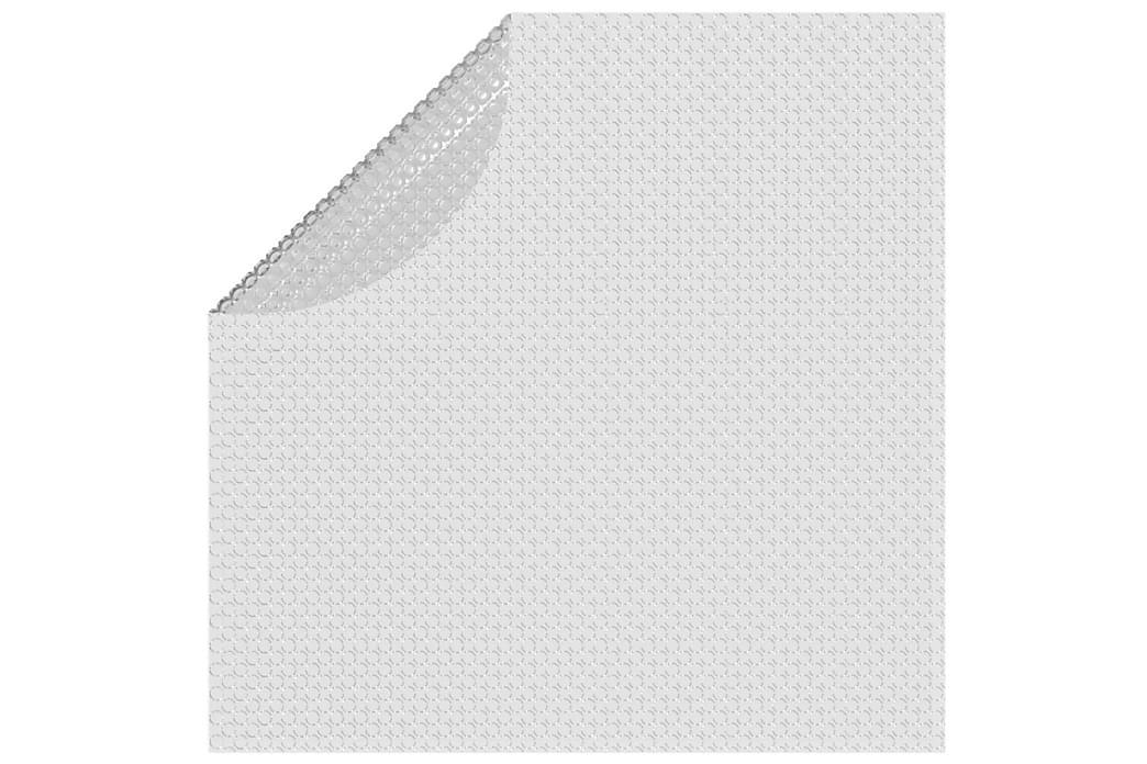 Kelluva uima-altaan PE-aurinkoenergiakalvo 527 cm harmaa - Uima- & porealtaat - Uima-allastarvikkeet - Allassuojat & -vuorit