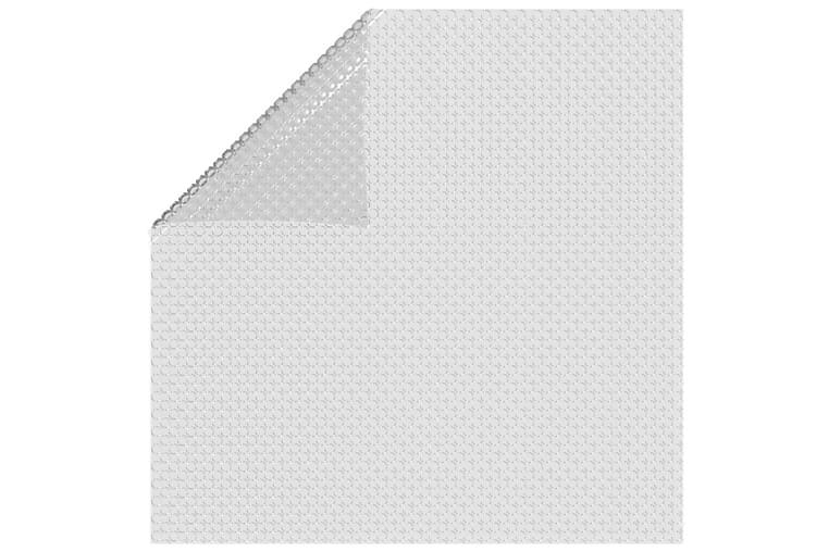Kelluva uima-altaan PE-aurinkoenergiakalvo 549x274 cm harmaa - Harmaa - Uima- & porealtaat - Uima-allastarvikkeet - Allassuojat & -vuorit