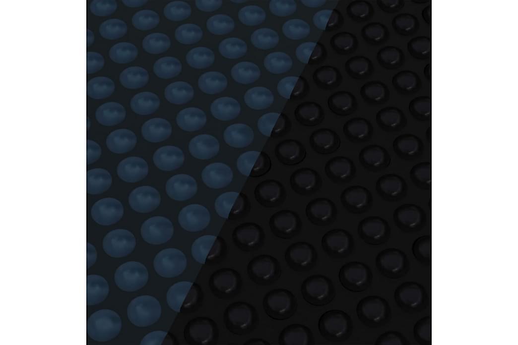 Kelluva uima-altaan PE-aurinkoenergiakalvo 800x500 cm - Musta - Uima- & porealtaat - Uima-allastarvikkeet - Allassuojat & -vuorit