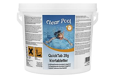 QuickTab 20g klooritabletit 3 kg