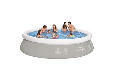 Jilong ilmatäytteinen uima-allas 450 x 122 cm harmaa