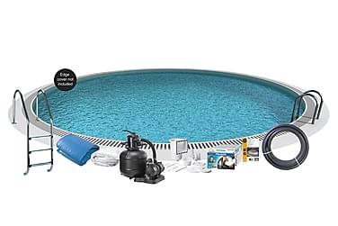 Upotettava uima-allas Teräs Ø350x120