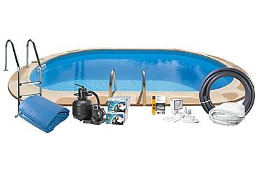 Upotettava uima-allas Teräs 730x375x120