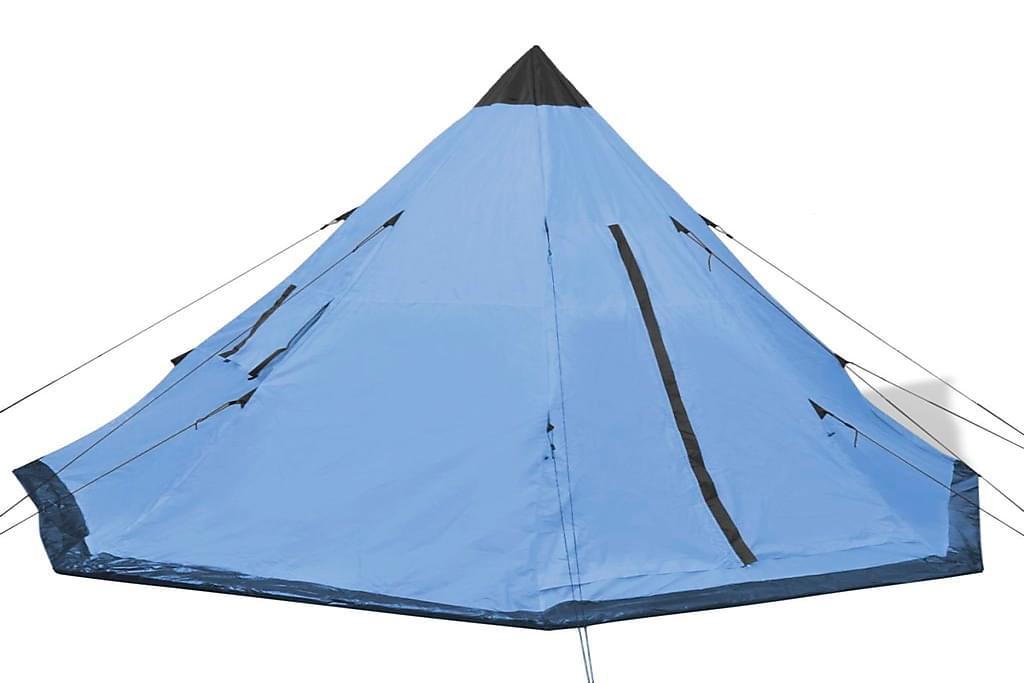 4 hengen teltta Sininen - Sininen - Urheilu  & vapaa-aika - Retkeily & vaellus - Teltat