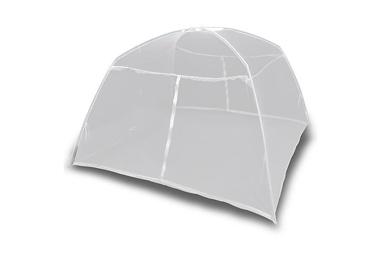 Retkeilyteltta 200x120x130 cm lasikuitu valkoinen - Urheilu  & vapaa-aika - Retkeily & vaellus - Teltat