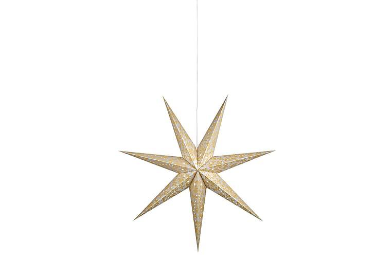 Joulutähti Augusta 75 cm Kulta/Valkoinen - Markslöjd - Valaistus - Jouluvalaistus - Joulutähdet