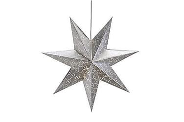 Joulutähti Tostared 45 cm Hopea