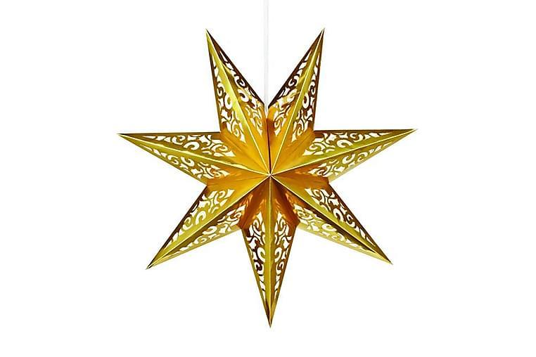 Joulutähti Vallby 75 cm Kulta - Markslöjd - Valaistus - Jouluvalaistus - Joulutähdet