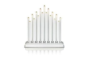 Kynttelikkö Chester LED 17L Valkoinen