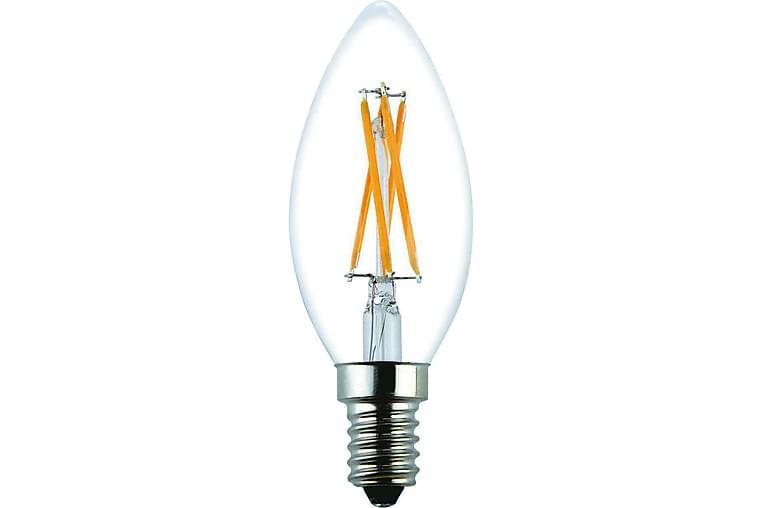 LED-lamppu Kruunu 3,6W E14 2700K Himm Filamentti Kirkas - Malmbergs Elektriska - Valaistus - Hehkulamput & polttimot - LED-valaistus