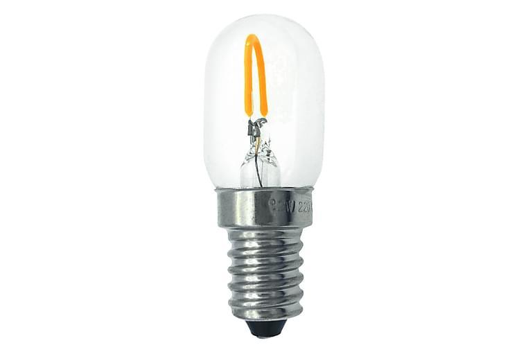 LED-lamppu Päärynä 1W E14 2700K Filamentti Kirkas - Malmbergs Elektriska - Valaistus - Hehkulamput & polttimot - LED-valaistus
