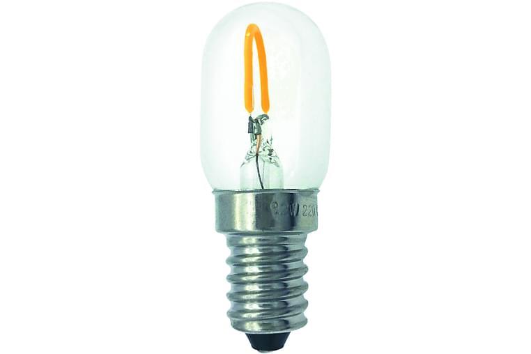 LED-lamppu Päärynä 1W E14 Filamentti Kirkas - Malmbergs Elektriska - Valaistus - Hehkulamput & polttimot - LED-valaistus
