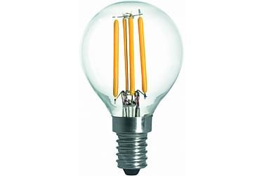 LED-lamppu Pallo 3,6W E14 2700K Himm Filamentti Kirkas
