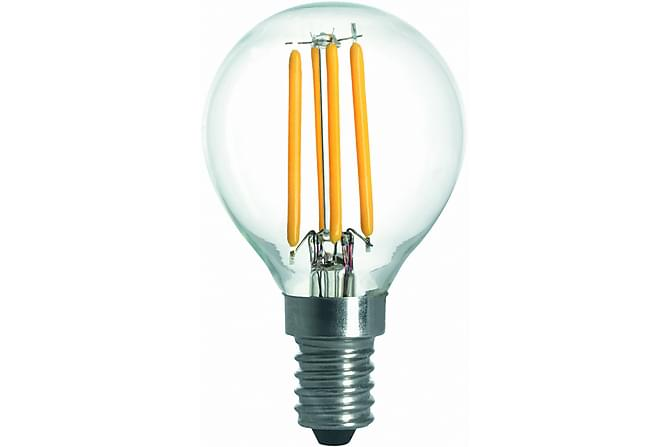 LED-lamppu Pallo 3,6W E14 2700K Himm Filamentti Kirkas - Malmbergs Elektriska - Valaistus - Hehkulamput & polttimot - LED-valaistus