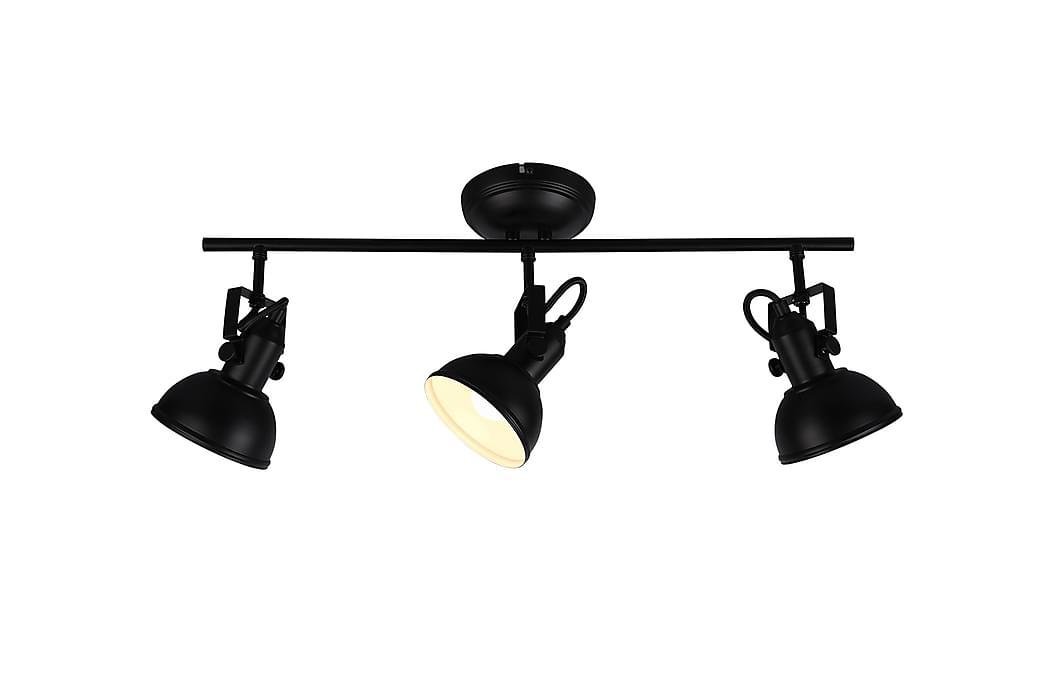 Gina Spotti 3-Os. 3xE14 Mattamusta - TRIO - Valaistus - Sisävalaistus & lamput - Kattovalaisimet