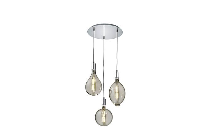 Ginster riippuvalaisin 40 cm 3xE27 LED kromi - TRIO - Valaistus - Sisävalaistus & lamput - Kattovalaisimet