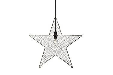 Joulutähti Bynäs 50 cm Harmaa