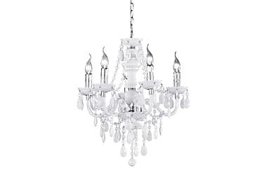 Lüster chandelier 5-pc 5xE14 white