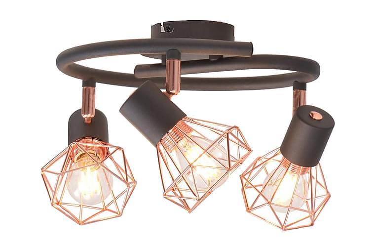 Kattovalaisin 3:lla LED-kuitupolttimolla 12 W - Monivärinen - Valaistus - Sisävalaistus & lamput - Kattovalaisimet