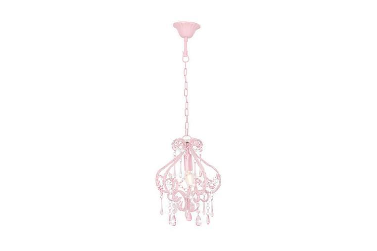 Kattovalaisin helmillä pinkki pyöreä E14 - Pinkki - Valaistus - Sisävalaistus & lamput - Kattovalaisimet